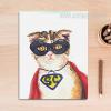 Cool Cat Animal Poster Print