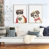 Cool Cat Dog Animal Poster Prints