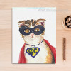 Cool Cat Animal Poster Print