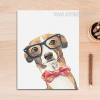 Cool Dog Animal Poster Print