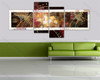 home decor painting Multicolor Lines