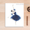 Ballet Dancing Girl Canvas Art