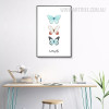 Three Butterfly Watercolor Art Canvas Print