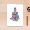 Indian Modern Buddha Yoga Pattern Home Decoration Wall Art