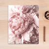 Romantic Pink Peony Floral Canvas Print