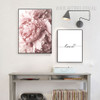 Romantic Pink Peony Wired Love Canvas Prints