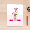 Dog with Roses Canvas Painting Print