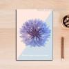 Refresh Purple Flower Canvas Painting Print