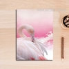 Pink Flamingo Bird Canvas Print