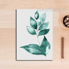 Refreshing Green Leaf Art