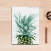 Refreshing Green Pineapple Fruit Wall Art