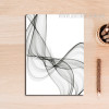 Black And White Abstract Lines Print