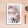 Romantic Pink Rose Flowers Modern Art