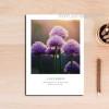 Purple Lavender Floral Canvas Wall Art