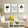 Geometric Triangles This Is Where The Magic Happens Words Canvas Art