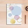 Geometric Pattern Colorful Hexagons Canvas Print