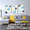 Abstract Watercolor Pattern 3 Piece Canvas Prints