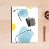 Abstract Watercolor Pattern Canvas Art