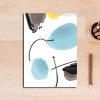 Abstract Watercolor Pattern Wall Decor
