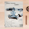 Old Times Classic Cars Vintage Poster Digital Print