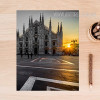 Milan Cathedral Church Vintage Poster Print