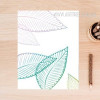 Creative Fresh Leaf Canvas Art Print