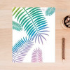 Creative Fresh Leaf Canvas Painting Print