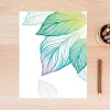 Creative Fresh Leaf Canvas Wall Print