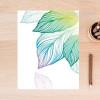 Creative Fresh Leaf Canvas Wall Print