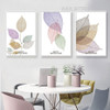 Transparent Beautiful Leaves Rolled Canvas Prints
