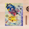 Jaune Rouge Wassily Kandinsky Digital Painting Print