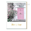 There is Home Pink Gate Canvas Art