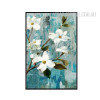 White Buttercup Flowers Wall Art