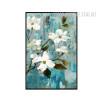 White Buttercup Flowers Wall Art