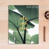Nature Botanical Mood Tropical Green Leaves Art