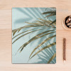 Tropical Green Long Leaves Canvas Print