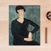 Woman in Blue Dress by Amedeo Modigliani Digital Print