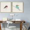 Cute Birds Kingfisher Bee Eater Design Scandinavian Prints