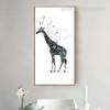 Nordic Cute Giraffe Print