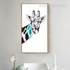 Nordic Cute Minimal Giraffe Print