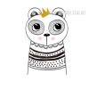Nordic Cute Animal Design Scandinavian Art