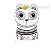 Nordic Cute Animal Design Scandinavian Art