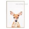 Cute Fawn Animal Canvas Print