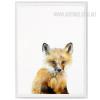 Cute Fox Animal Canvas Print