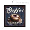 Coffee Espresso Vintage Print