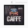 Lattee Caffee Print Canvas Art