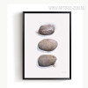 Abstract Beautiful Stone Print Vintage Canvas