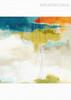 Abstract Sky Multicolor Cloud Watercolor Art Canvas Print