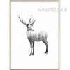 Wild Deer Design Canvas Print