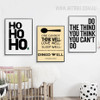 Modern ho Virginia Wolf Words Canvas Prints